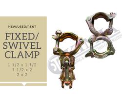 FIXED/SWIVEL CLAMP
