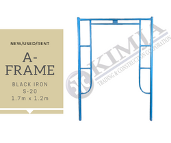 BLACK IRON A-FRAME
