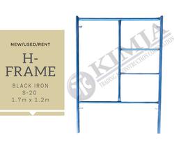BLACK IRON H-FRAME
