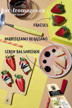 Bar à fromages par Agropur