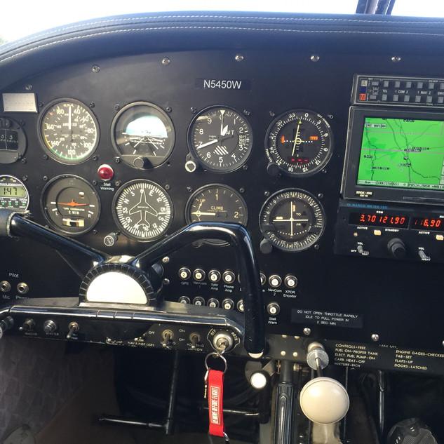 New Pilot's Side Panel