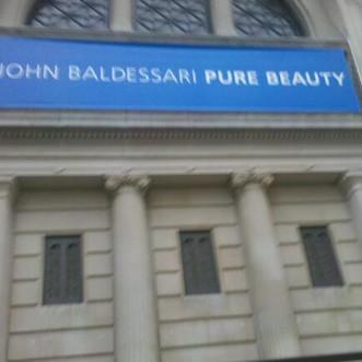Baldessari at the Met