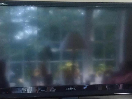 Reflected in the TV