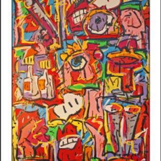 Bigger Than Hemingway in Big Ideas at Art at 12