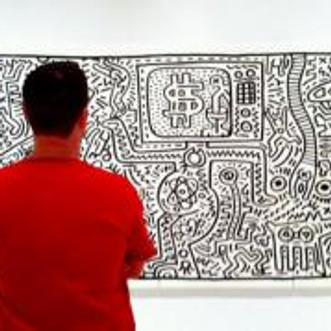 Me and Keith Haring