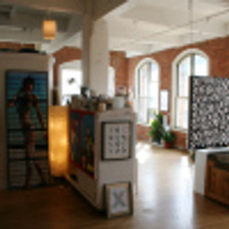 Some Shots from the Weekend at Open Studios