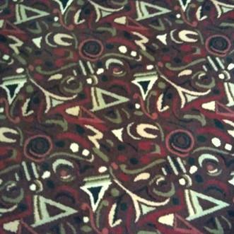 Early Jackson Pollock in a Casino Carpet: Reno, NV