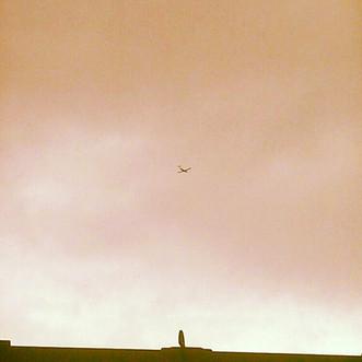 Airplane X Over The Window Lock