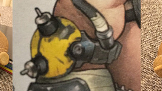 Roadhog Elbow Piece Part 1 (Photos only)