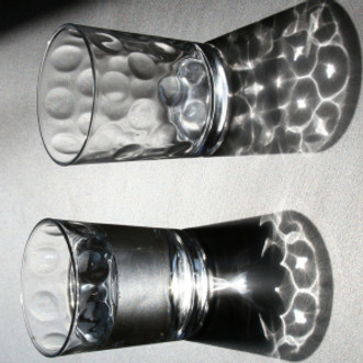 A Photo I Took of 2 Glasses Today