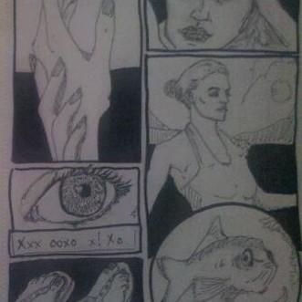 Sketchbook: Cosmo Comics