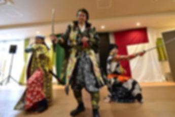 侍体験 サムライ体験 忍者体験 チャンバラ体験 殺陣体験 大阪 神戸 京都 尼崎