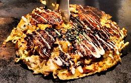 Okonomiyaki Osakan Food Wheelchair Accessible Travel Osaka