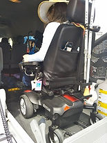 Wheelchair Accessible Car with lift Girl