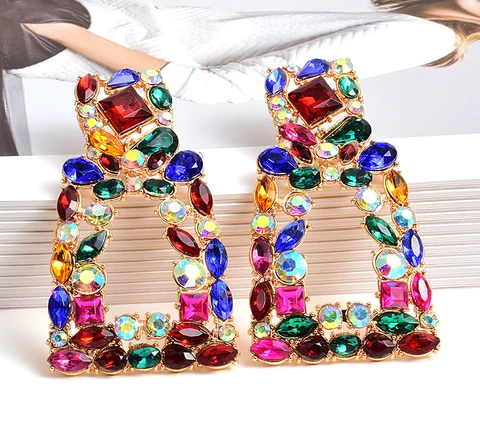 Wholesale-ZA-New-Long-Metal-Hollowed-out-Hanging-Colorful-Crystals-Dangle-Drop-Earrings-Fi