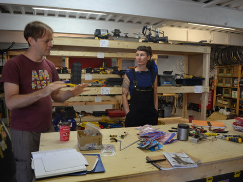 WORKSHOP: Radio Relay with At The Reception