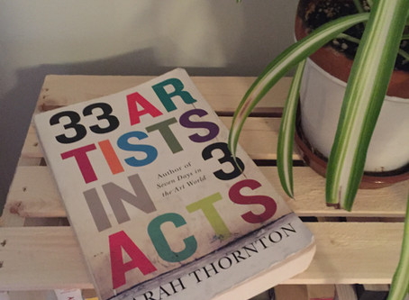 RESOURCEFUL READS: Seven Days in the Art World & 33 Artists in 3 Acts