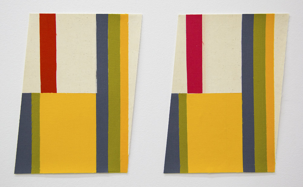 Flagettes, No. 11 (Diptych)