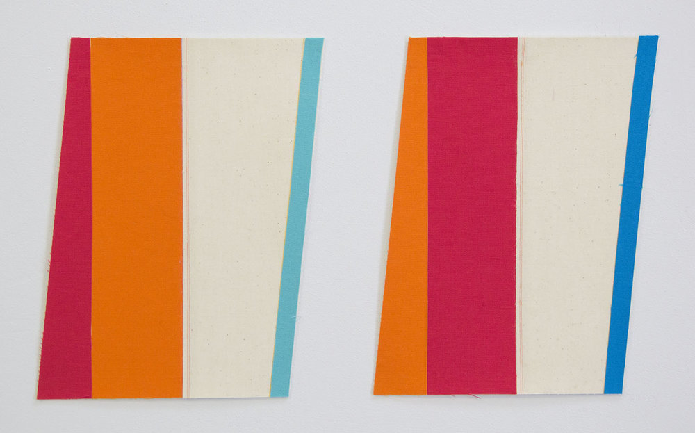 Flagettes, No. 2 (Diptych)