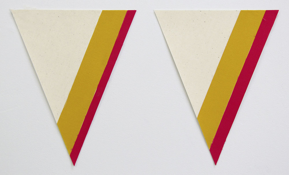 Flagettes, No. 4 (Diptych)