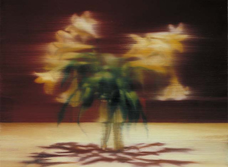 """COLLECTOR'S ITEM: """"Lilies"""" by Gerhard Richter"""