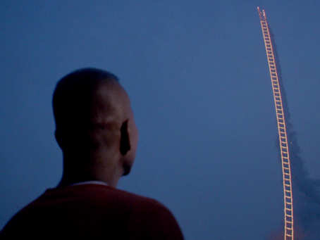 LOOK & LISTEN: Sky Ladder: The Art of Cai Guo-Qiang