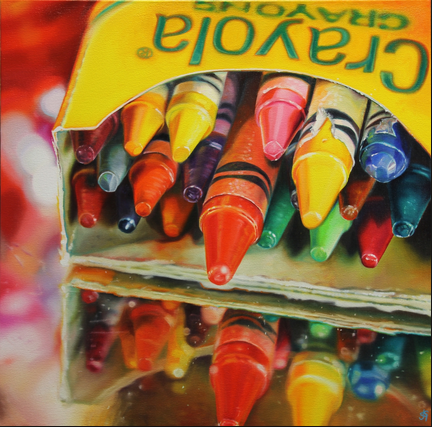 Andy's Crayons