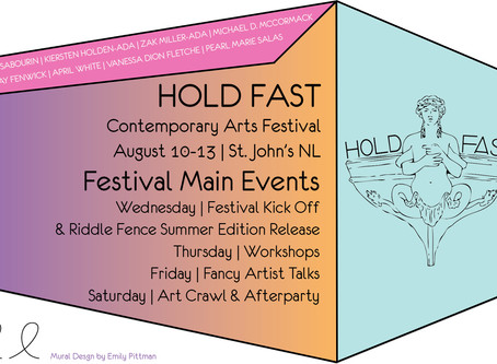 HOLD FAST Festival is one week away!