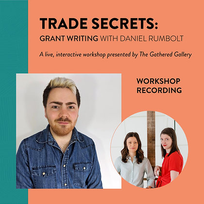 Grant Writing with Daniel Rumbolt