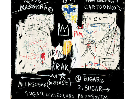 """COLLECTOR'S ITEM: """"A Panel of Experts"""" by Jean-Michel Basquiat"""