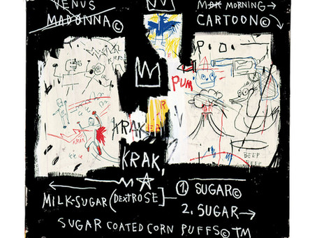 "COLLECTOR'S ITEM: ""A Panel of Experts"" by Jean-Michel Basquiat"