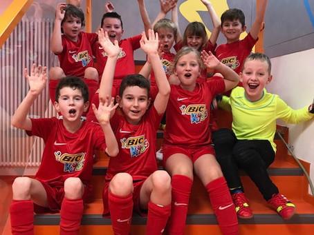 F-Jugend Turnier in Gammertingen vom 06.01.2019