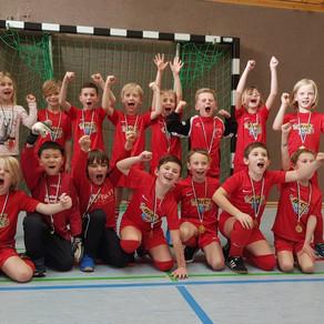 F-Jugend erfolgreich bei Turnier in Gammertingen