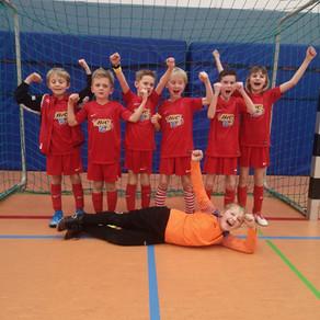 F-Jugend Jahrgang 2011; 3. Platz in Eningen