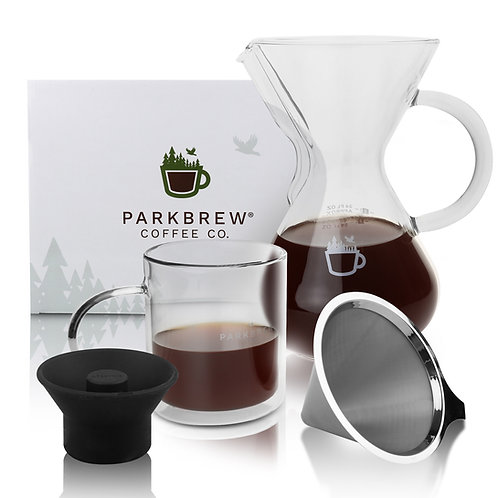 Pour Over Coffee Maker Kit