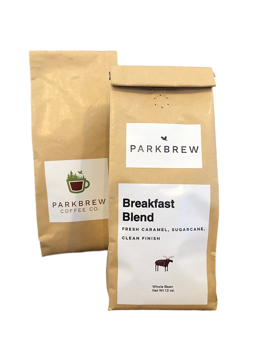 In-House Roasted ParkBrew Breakfast Blend