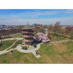#pattersonpark #pagoda #quadcopter #quad #dronenerds #multirotor #dronesarenotacrime #droneoftheday