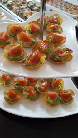 Avo and Tomato Tartlets