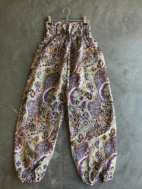 Pantalon Bali mauve