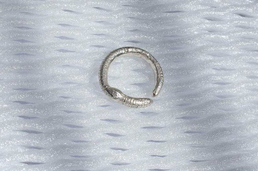 Worm Pinky Ring