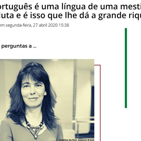 Entrevista Margarida Calafate Ribeiro no Camões