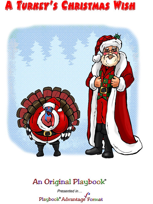A Turkey's Christmas Wish - Virtual Only - $15