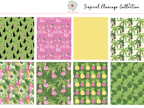 Tropical Flamingo Kit - EC Weekly Kit - Planner St