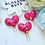 Thumbnail: Sequin Heart Planner Clips