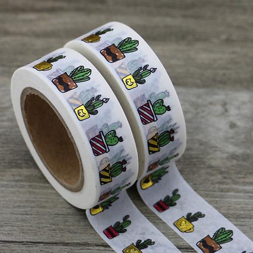 Cactus Foil Washi Tape