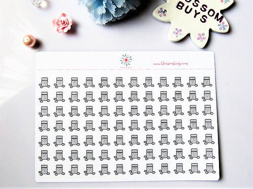 Medicine/Pills Sticker Sheet
