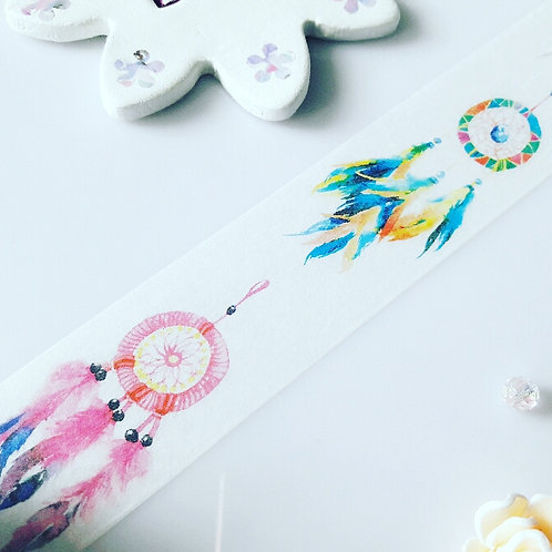 Feather Dream catcher Washi Tape - Wide