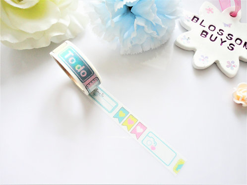 Perforated Functional Washi Tape