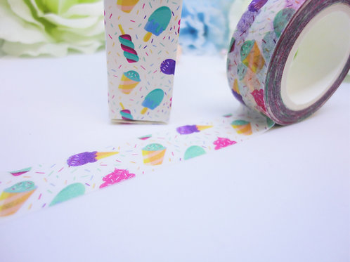 Ice Cream Sprinkles Washi Tape