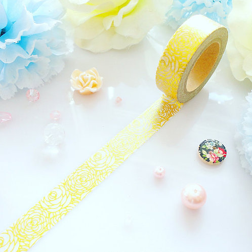 Gold Foil Washi Tape- 4 designs